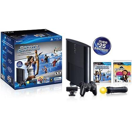 Sony Playstation 3 250GB Sports Champion EyePet Move Bundle