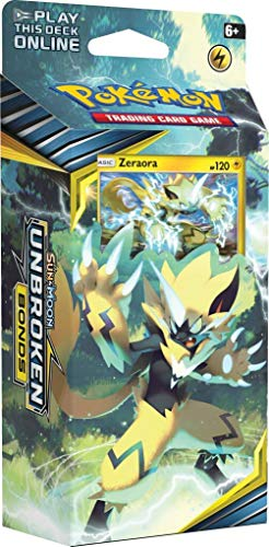 Pokemon TCG: Sun & Moon Unbroken Bonds Zeraora Theme Deck
