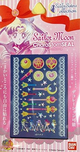 Sailor Moon Sailor Sisters Collection CharaStomSeal Sailor Wand Sticker Set