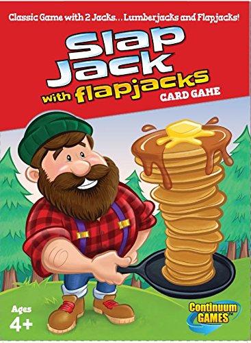 Continuum Games Slap Flap Jacks Board Games (Play Slap Card Game)