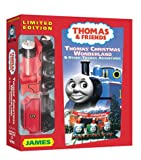 Thomas the Tank Engine and Friends - Thomas Christmas Wonderland (With Bonus James Wooden Train) [VHS]