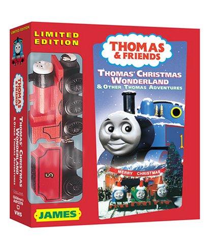 Thomas Christmas Wonderland Vhs.Amazon Com Thomas The Tank Engine And Friends Thomas