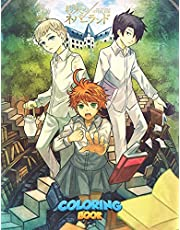 The Promised Neverland Coloring Book: Relaxation The Promised Neverland Coloring Books For Adults And Kids Stress Relieving With Lots Of Beautiful Illustrations
