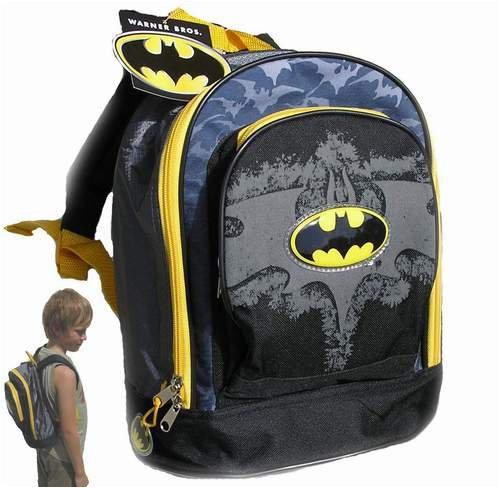 Batman - Mochila infantil Niños Negro negro one size: Amazon.es: Ropa y accesorios