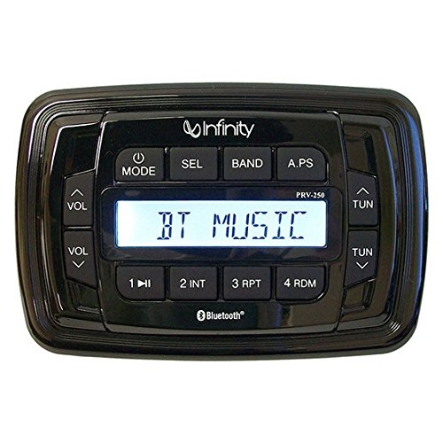 Infinity INF-PRV250 AM/FM/Bluetooth Multimedia Receiver Only