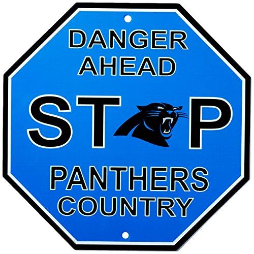 Fremont Die NFL Carolina Panthers Stop Sign, 12