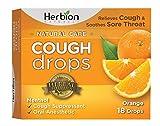 HERBION NATURALS, COUGH DROPS,ORANGE 18 CT EA 1