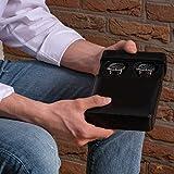 DiLoro Luxury Travel Watch Box Storage Case in