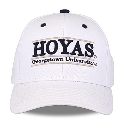 NCAA Georgetown Hoyas Unisex NCAA The Game bar Design Hat, White, -