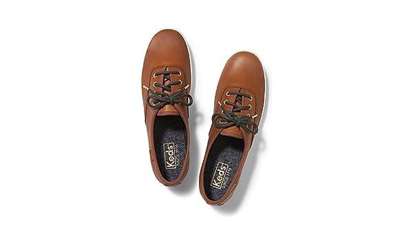 4fd98624cc8c9 Keds Women s Champion Burnished Leather Cognac Fashion Sneakers  Amazon.ca   Shoes   Handbags