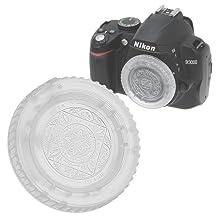 Fotodiox Designer Body Cap for Nikon F (Clear)
