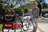 Allen Sports Premium Aluminum 2 Child Bicycle Trailer and Stroller