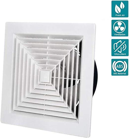 Ventilador Extractor de baño La energía Baja Cocina baño silenciosa Campana extractora 300 mm con extracción de ventilación de cordón,11.8in: Amazon.es: Hogar
