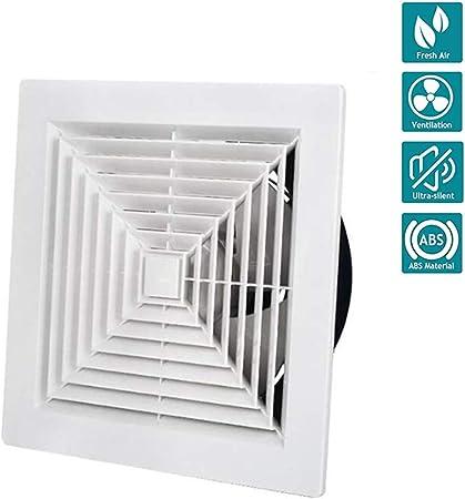 Ventilador Extractor de baño La energía Baja Cocina baño silenciosa Campana extractora 300 mm con extracción de ventilación de cordón,12.8in: Amazon.es: Hogar