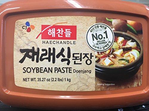 HAECHANDLE Soybean Paste 1KG 2.2Lb 해찬들 재래식 된장