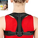 Posture Corrector & Back Brace Posture Corrector for Women & Men Effective and Comfortable Upper Back Posture for Providing Relief from Neck Pain, Back Pain, Shoulder Pain & Bad Posture.