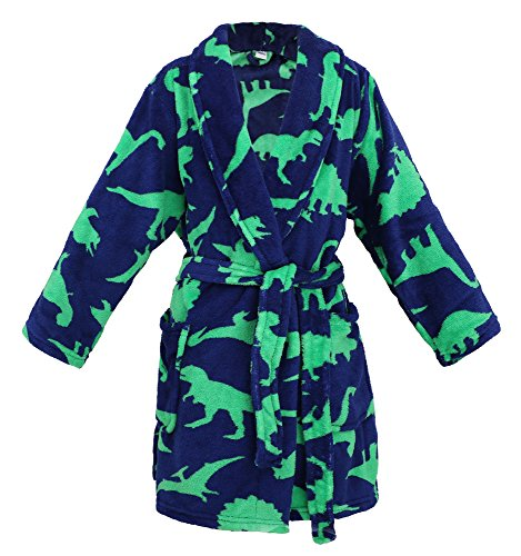 (Simplicity Boys Girls Printed Cover up Party Costume, Dinosure,M)