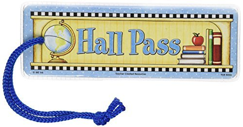 Teacher Created Resources Hall Pass from Mary Engelbreit (5026) by Teacher Created Resources