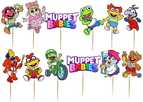 Muppet Babies Centerpiece MUPPET BABIES Cake Topper Muppet Babies Birthday Decoration Muppet Babies Cake Decoration