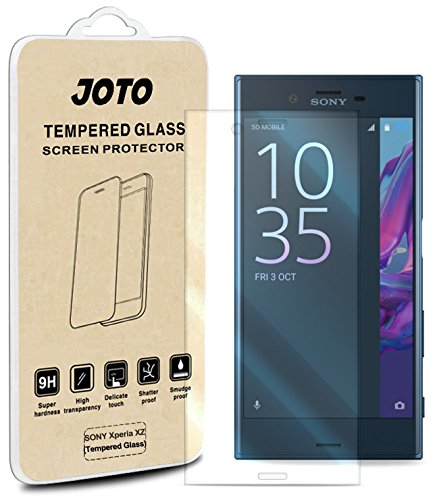 私たちのものワゴンフレームワークSony Xperia XZ 強化ガラス スクリーンプロテクター,JOTO Sony Xperia XZ 2016 フィルムガード 曲線エッジ レアル ガラス 液晶保護フィルム スクリーン 強化ガラス