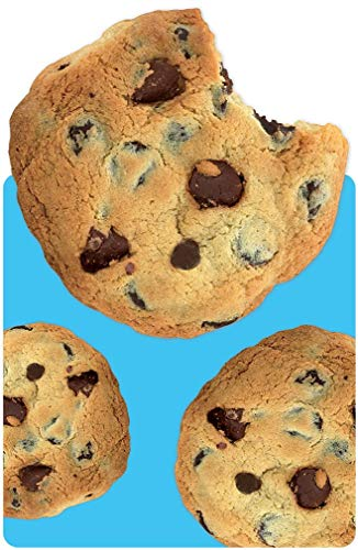 Playhouse Chocolate Chip Cookies Die Cut Shaped Pocket Notebook for Kids