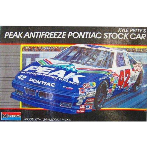 Kyle Petty Unsigned Peak Antifreeze Pontiac Stock Car Mod...