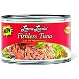 Loma Linda Vegetarian Meat Substitutes, Fishless Tuna, 13 Ounce