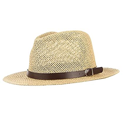 Amazon.com   ALWLj Unisex Summer Hats For Women Men Breathable Mesh Straw  Hat Vintage Jazz Church Cap Beach Sun Caps Panama   Sports   Outdoors 920f4ac46aa7