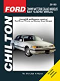 Ford Crown Victoria/Grand Marquis, Eric Michael Mihalyi and Mark Ryan, 156392904X