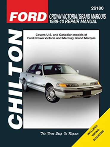 chilton ford crown victoria 1989 10 repair manual mihalyi eric rh amazon com New Ford Crown Victoria 2003 ford crown victoria repair manual