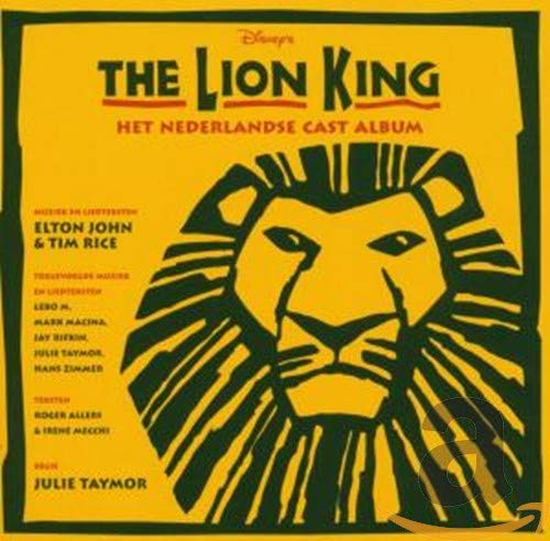 Lion King Disney S The Lion King Het Nederlandse Cast Album Amazon Com Music
