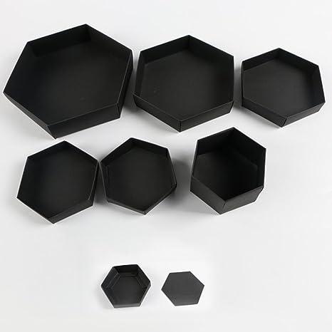 Caja de regalo de explosión hexagonal de 5 capas y 6 lados Caja de regalo innovadora Caja de álbum de fotos DIY - Yves25Tate: Amazon.es: Bricolaje y herramientas