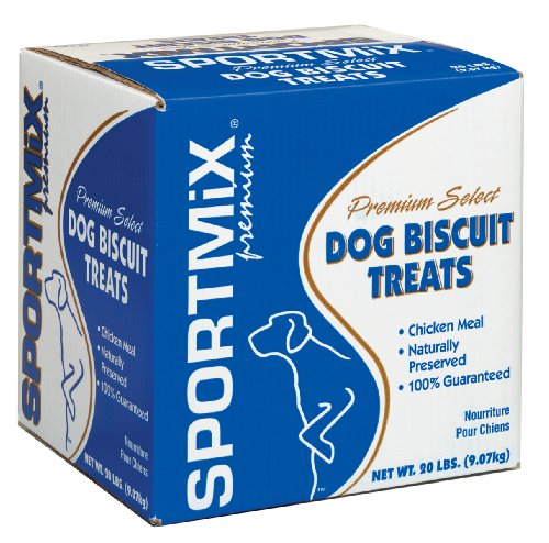 Wells SPORTMiX Gourmet Peanut Dog Biscuit Treats – 20 lb. Bag, My Pet Supplies