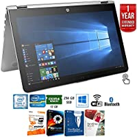 HP 15-aq210nr ENVY 15 Intel i7-8550U 8GB RAM Touch Laptop (X7U52UA#ABA) + Elite Suite 17 Standard Software Bundle (Corel WordPerfect, PC Mover,PDF Fusion,X9) + 1 Year Extended Warranty
