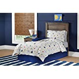 Lullaby Bedding FCO-SPACE 4 Piece Space Collection Cotton Printed Comforter Set, Full