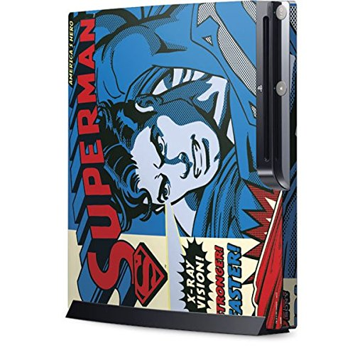 DC Comics Superman Playstation 3 & PS3 Slim Skin - Superman - America8217;s Hero Vinyl Decal Skin For Your Playstation 3 & PS3 Slim