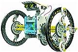 Katoot@ 14-in-1 Solar Robot Kit Educational Solar Power Robot DIY Toy Assembled Toys For Kids Car Boat Animal DIY Robot