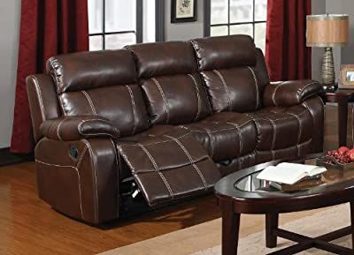 Coaster Home Furnishings Casual Motion Sofa, Coffee