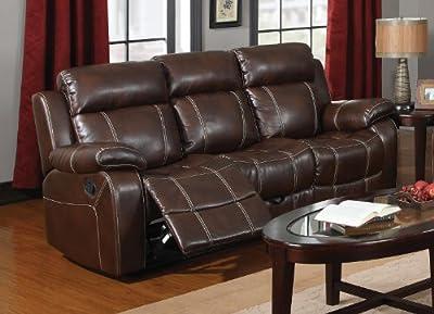 Coaster Home Furnishings Casual Motion Sofa, Coffee