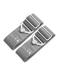 Travel Suitcase Belts/Luggage Straps Adjustable and Elastic