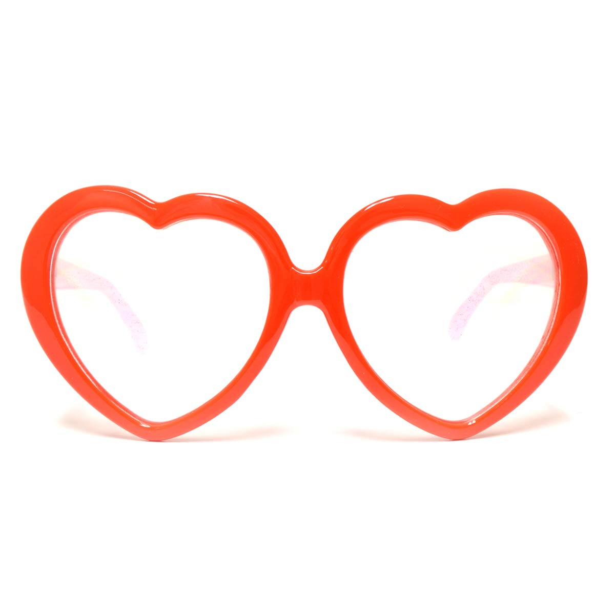 7e7aabc2ce Amazon.com  GloFX Red Heart Shape Diffraction Party Rave Glasses Hearts  Shaped  Shoes