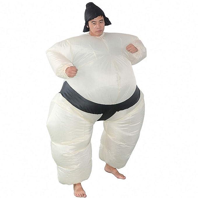 K2 Disfraz de Halloween Inflable Disfraz de Sumo Muscular Inflable ...