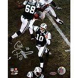 Steiner Sports NFL New York Jets Chad Pennington Overhead Pass 8x10 Photograph