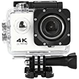 Fashion Egmy Sell Waterproof 4K SJ60 Wifi HD 1080P Ultra Sports Action Camera DVR Cam Camcorder (White)