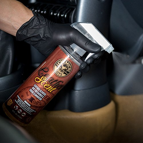 Chemical Guys AIR_102 Leather Scent Premium Air Freshener and Odor Eliminator (1 Gal)