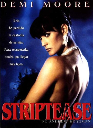 Striptease Poster Spanish 27x40 Paul Guilfoyle Demi Moore Burt Reynolds
