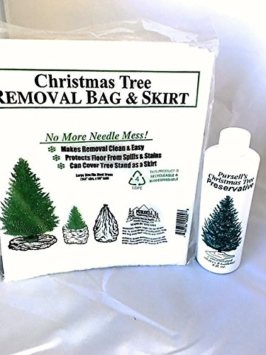 Christmas Tree Preservative and Christmas Tree Removal Bag by Pursell