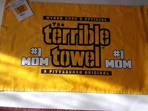 Pittsburgh Steelers #1 MOM Terrible Towel -  at SteelerMania