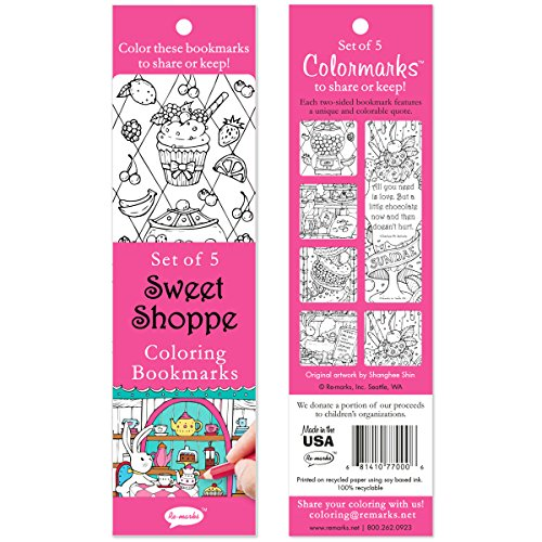 Re-marks Sweet Shoppe Bookmark