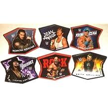 CakeDrake WWE Wrestling Ringleaders CENA Ambrose Roman ROCK 24 Topper Decors Cupcake RINGS